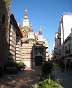 Церковь Сан Рома, Льорет де мар