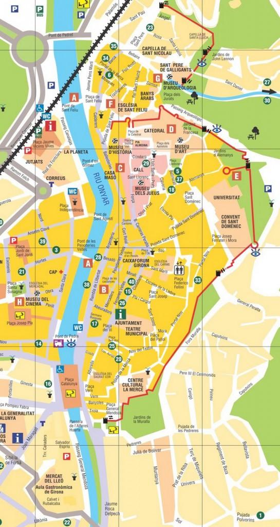 Карта Жироны, Каталония