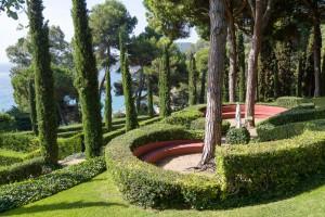 Сады Святой Клотильды, Ллорет де мар